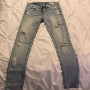 Blank NYC distressed jeans size 25
